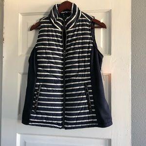 NWT Striped Vest